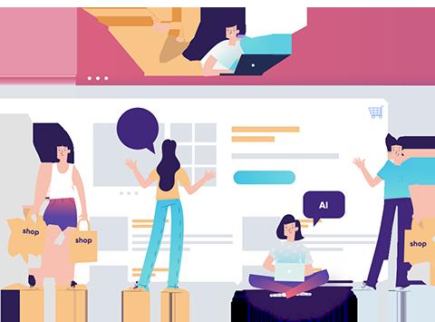 AI-based e-commerce